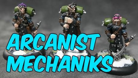 Converted Arcanist Mechanik