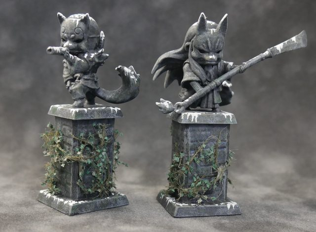 Converted Statues